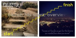 Baldwin Hills AMP Run